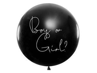 Balon Gender Reveal - Dziewczynka - 1 m
