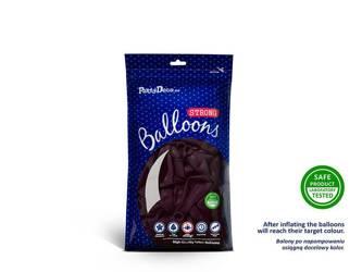 Balony Strong 12 cm - Crystal Maroon - 100 szt.