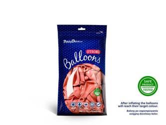 Balony Strong 12 cm - Metallic Rose Gold - 100 szt.