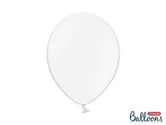 Balony Strong 30cm - Pastel Pure White - 10 szt.