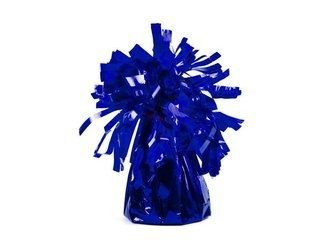 Ciężarek do balonów - foliowy - niebieski - 4 szt.
