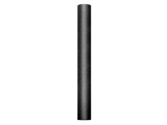 Tiul gładki - 0,5 x 9 m - czarny