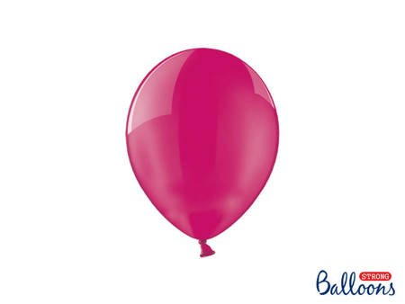 Balony Strong 23 cm - Crystal Hot Pink - 100 szt.