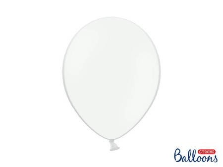 Balony Strong 30cm - Pastel Pure White - 50 szt.