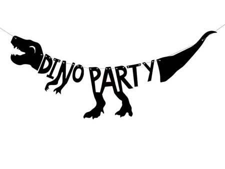 Baner Dinozaury - Dino Party - 20 x 90 cm
