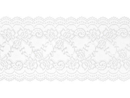 Koronka - 0,15 x 9 m - złamana biel